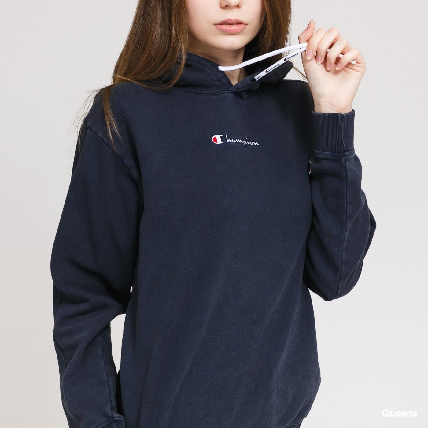 Champion Cropped Hooded Sweatshirt nava