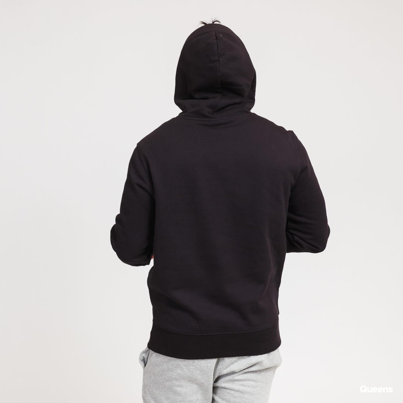 Champion Script Logo Hooded Sweatshirt černá