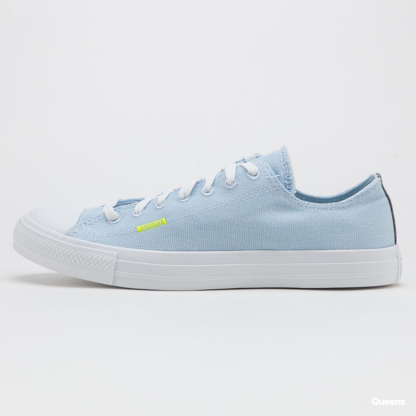Converse Chuck Taylor All Star OX chambray blue lemon venom