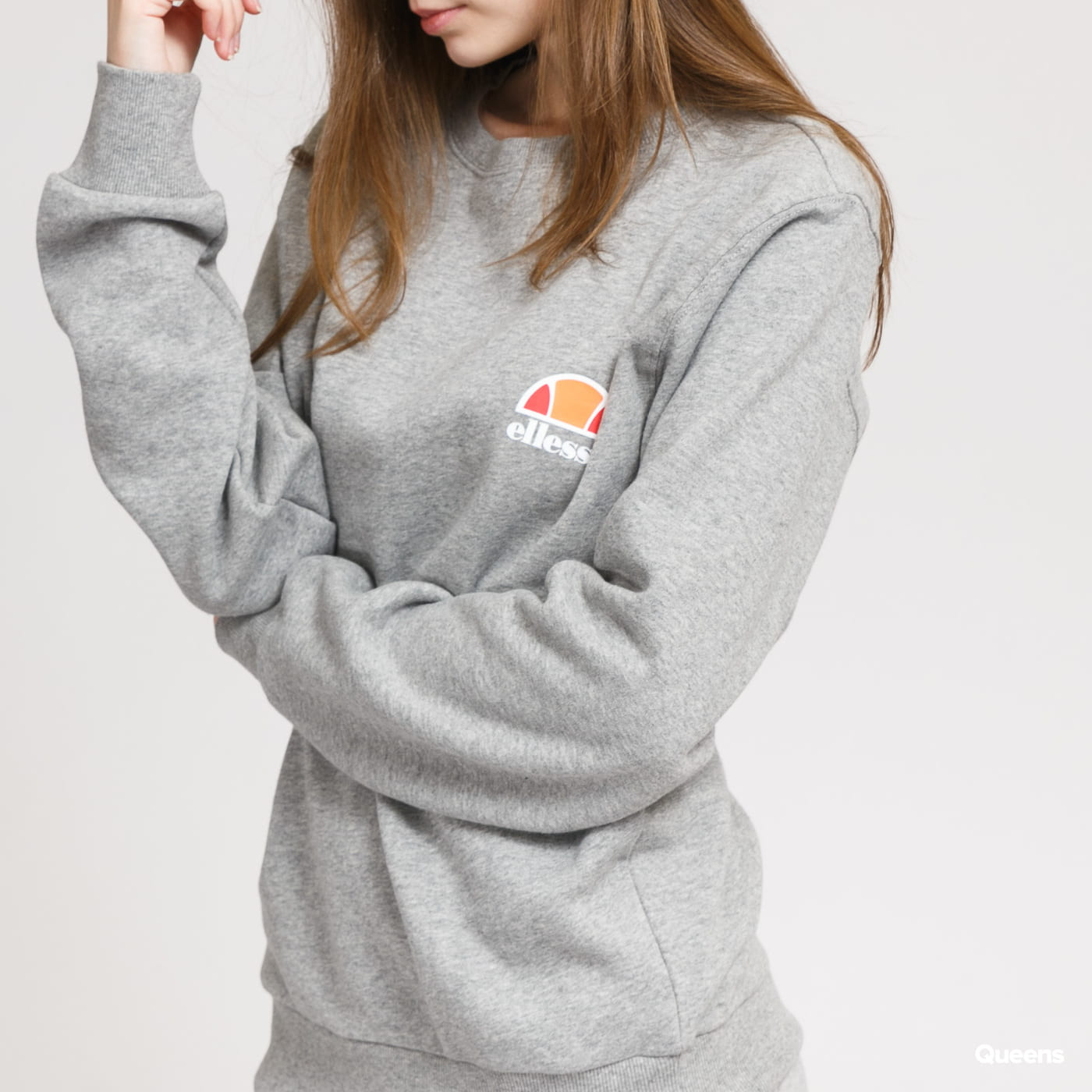 ellesse Haverford Sweathirt melange gray