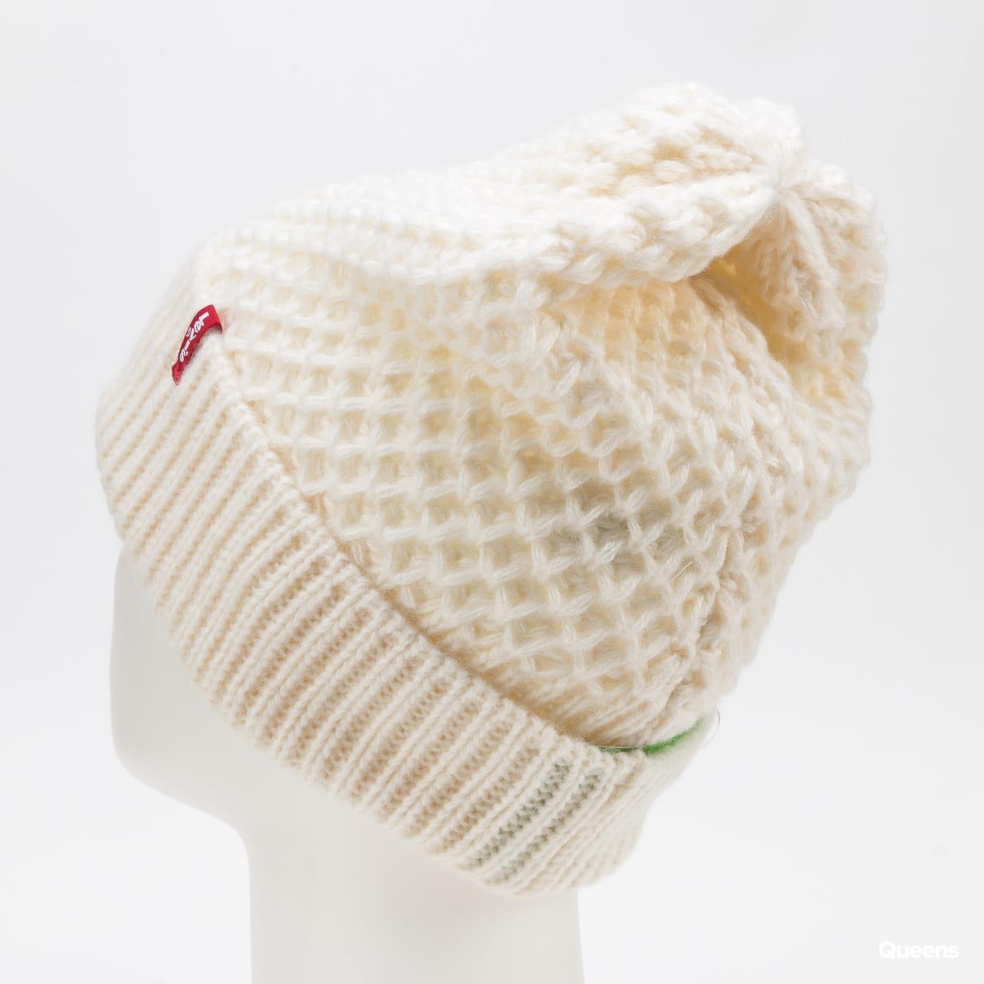 Levi's ® Classic Knit Beanie krémový