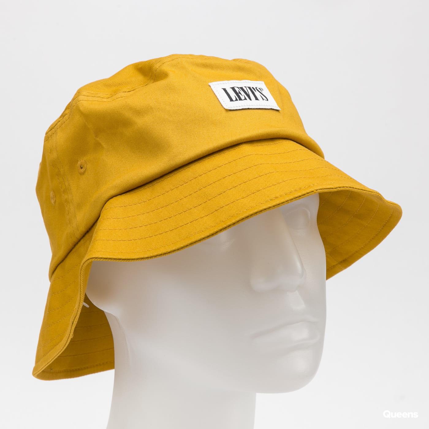 Levi's ® Serif Bucket Hat dark yellow