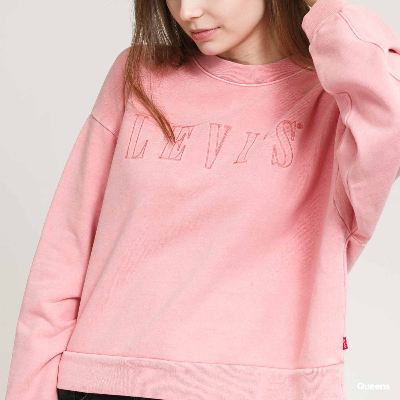 Levi's ® W Graphic Diana Crew růžová