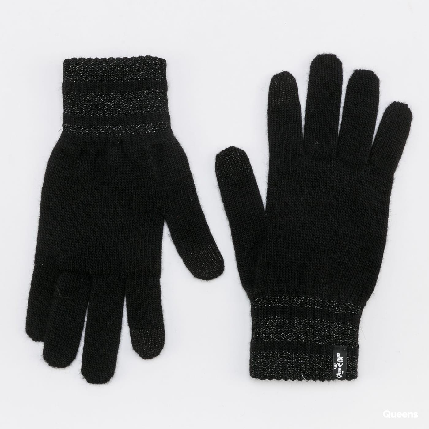 Levi's ® WMNS Lurex Gloves černé