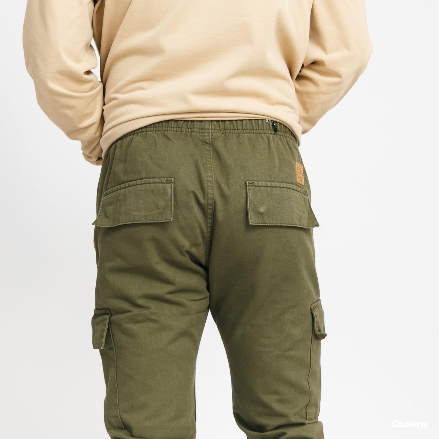 Mass DNM Cargo Jogger Pants olive