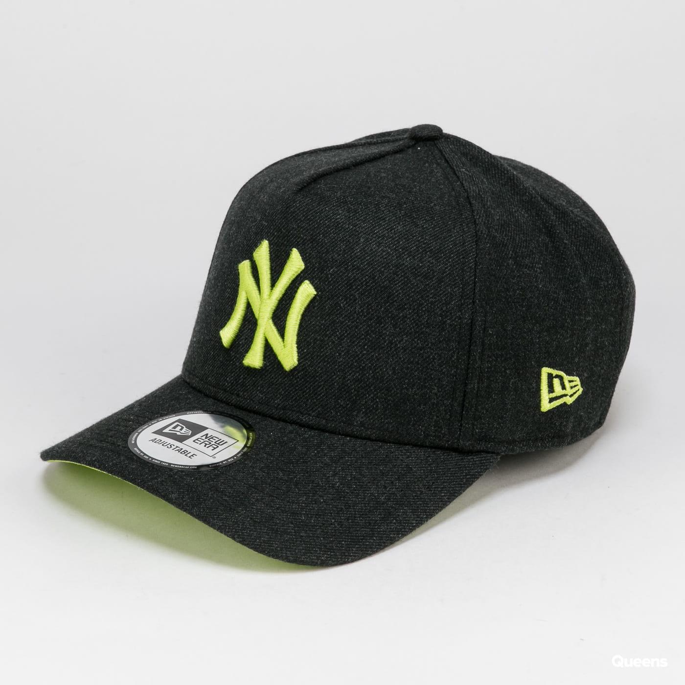 New Era 940 MLB Heather Pop Aframe NY melange black / yellow-green