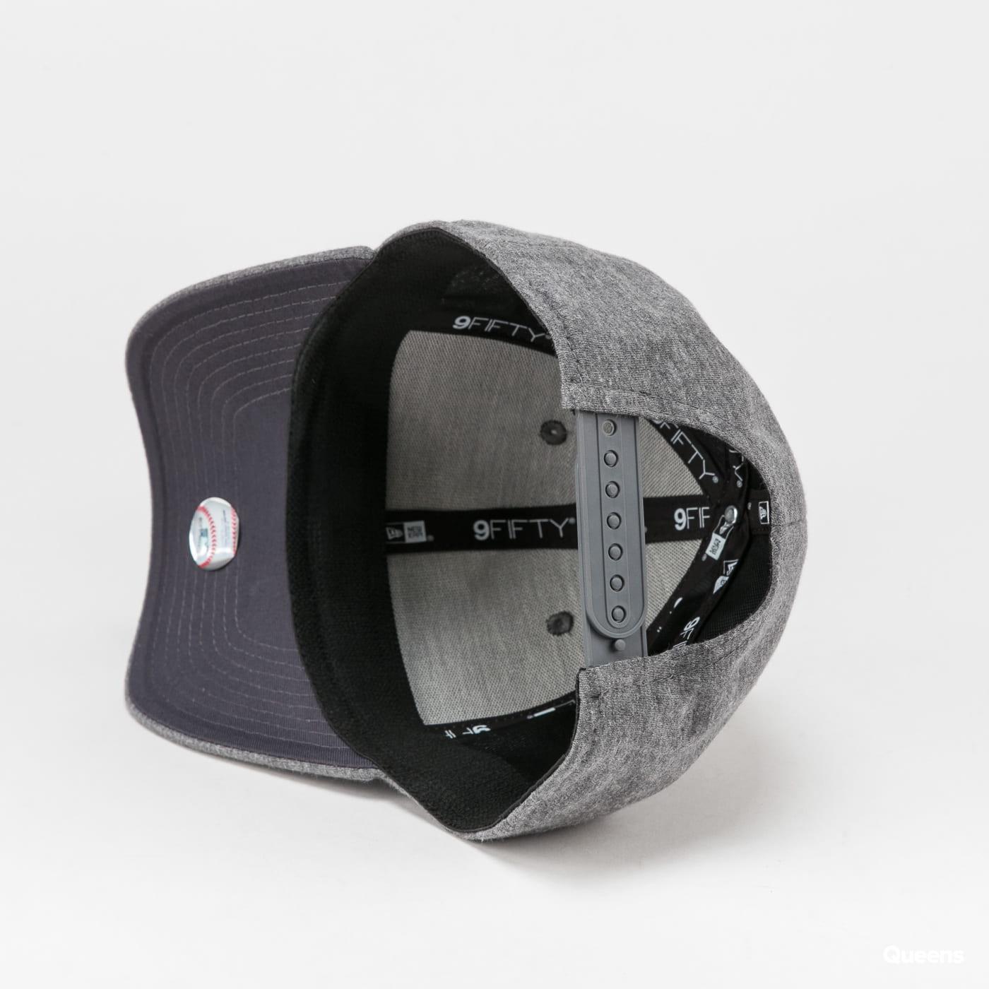 New Era 950 MLB Jersey Stretch Snap NY melange šedá / tmavě šedá