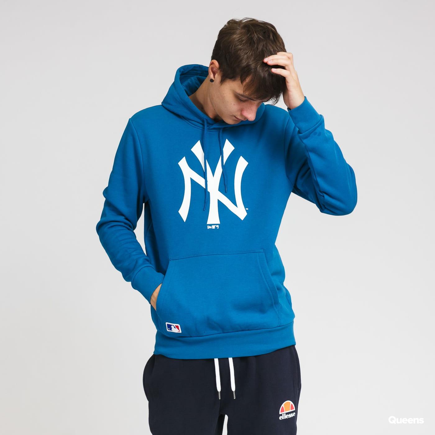 New Era MLB Seasonal Team Logo Hoody NY blue