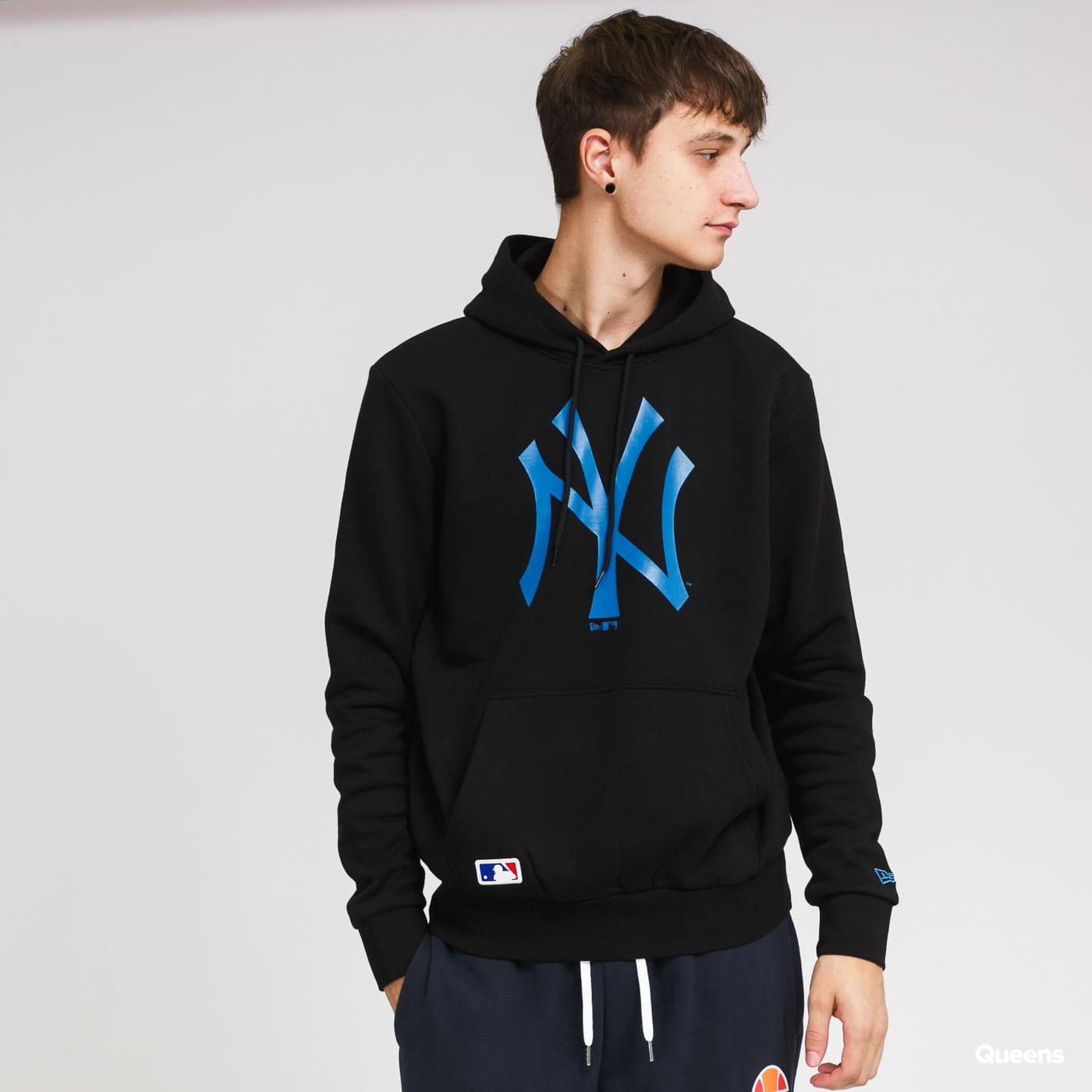 New Era MLB Seasonal Team Logo Hoody NY black / blue