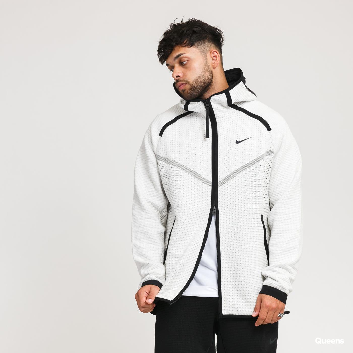 Nike M NSW Tech Pack WR Hoodie FZ cream / black