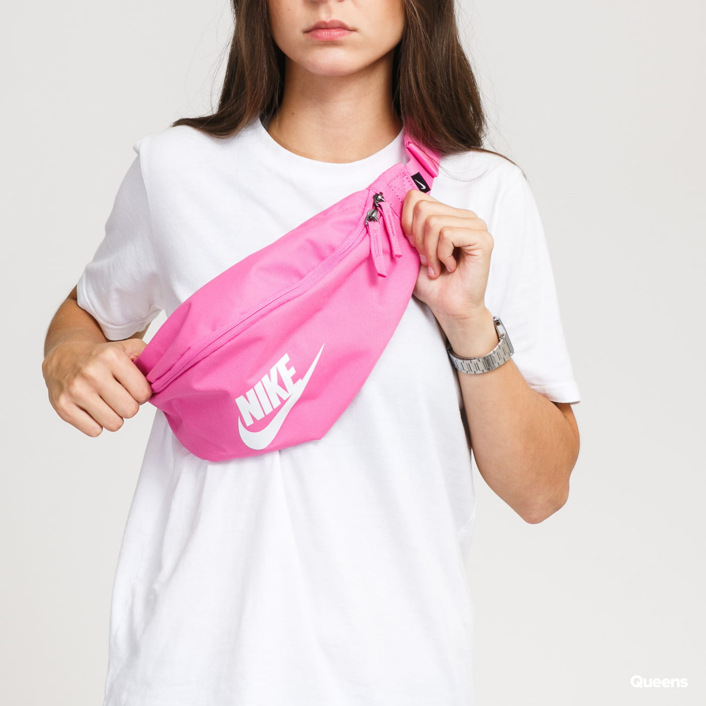 Nike NK Heritage Hip Pack pink