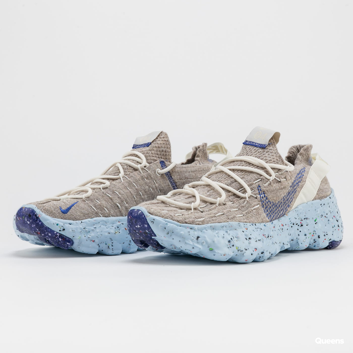 Nike Space Hippie 04 sail / astronomy blue - fossil