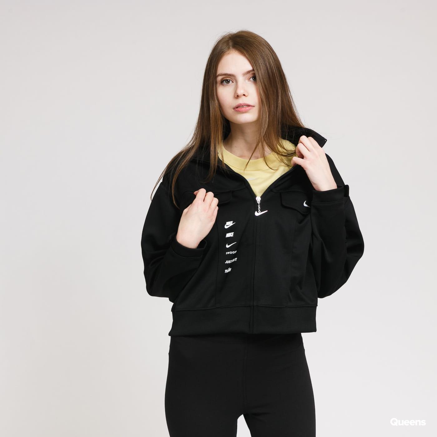 Nike W NSW Swoosh Jacket PK black