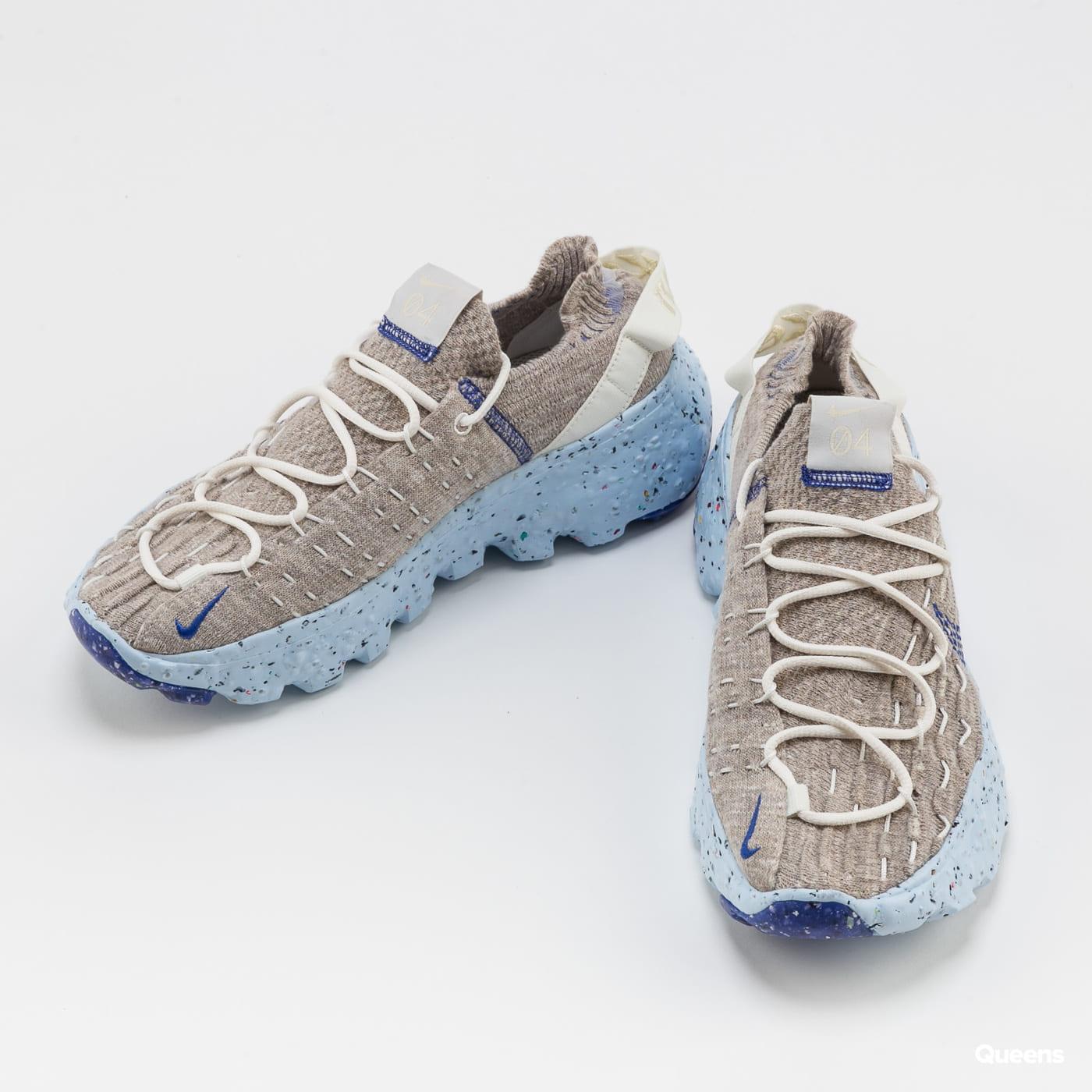 Nike W Space Hippie 04 sail / astronomy blue - fossil