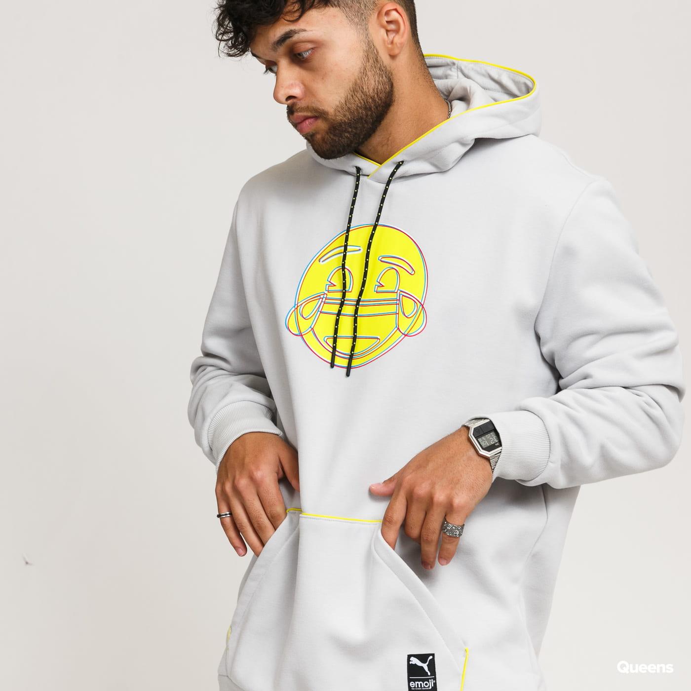 Puma X Emoji Hoodie gray