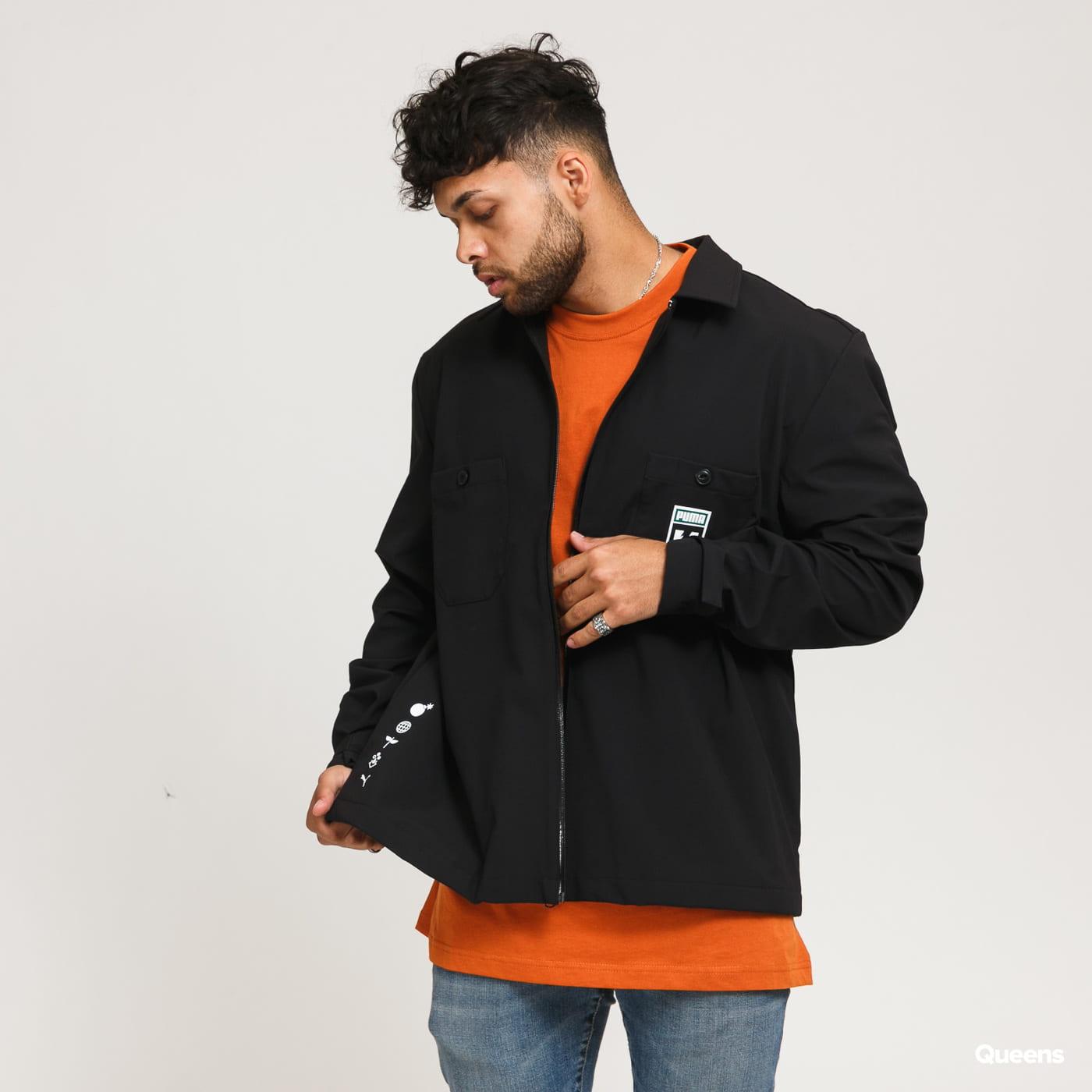 Puma X The Hundreds Chore Jacket černá