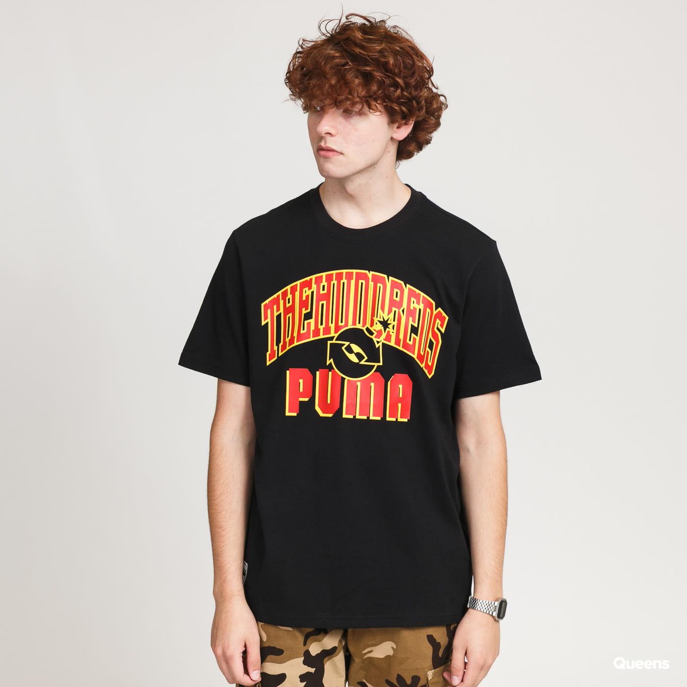 Puma X The Hundreds Tee black