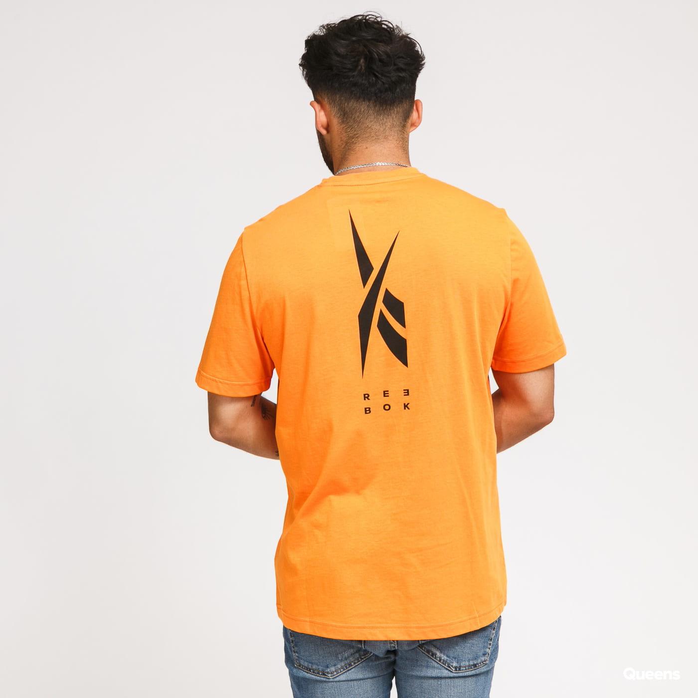 Reebok TS EdgeWorks Graphic Tee oranžové
