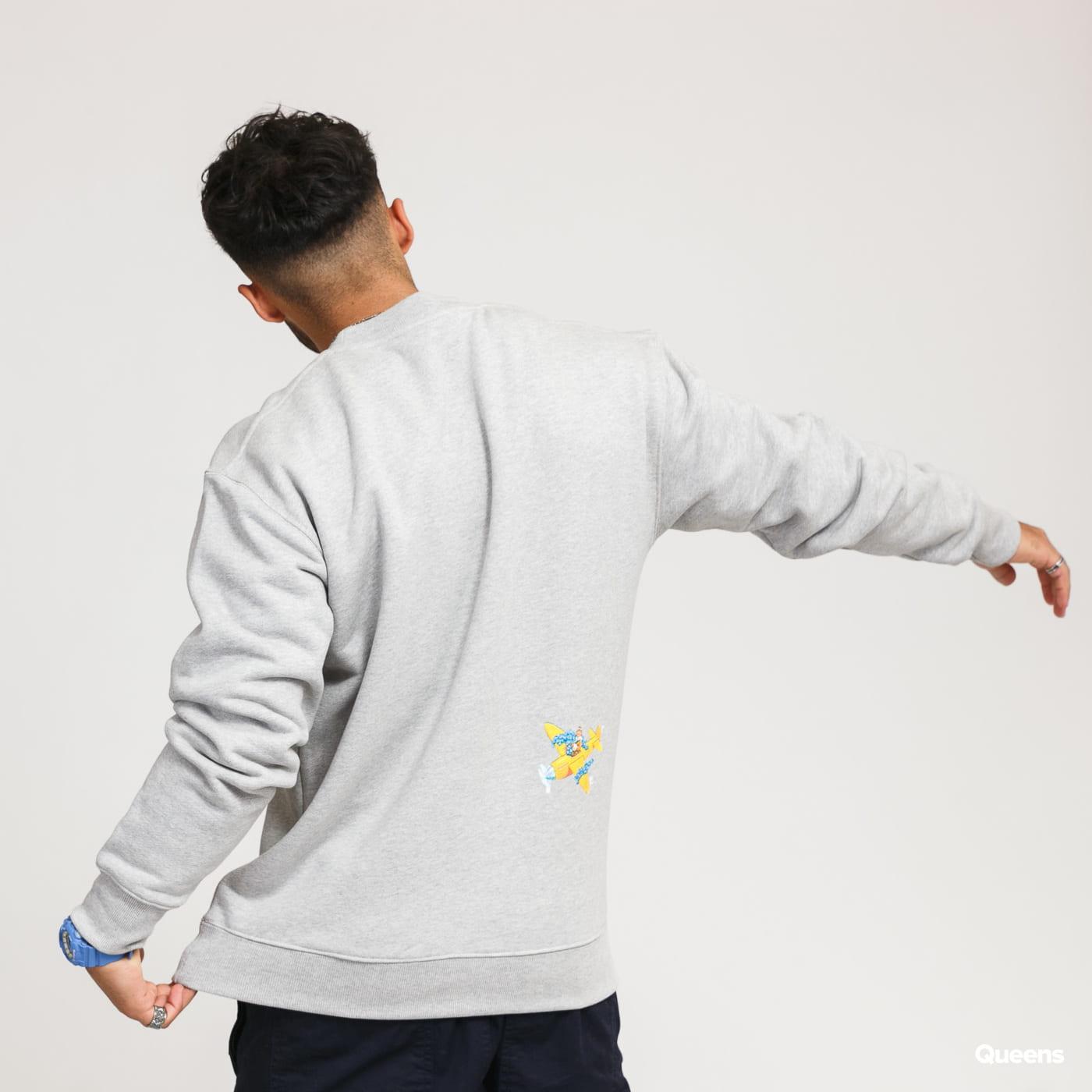 Soulland Scraps Sweatshirt melange gray