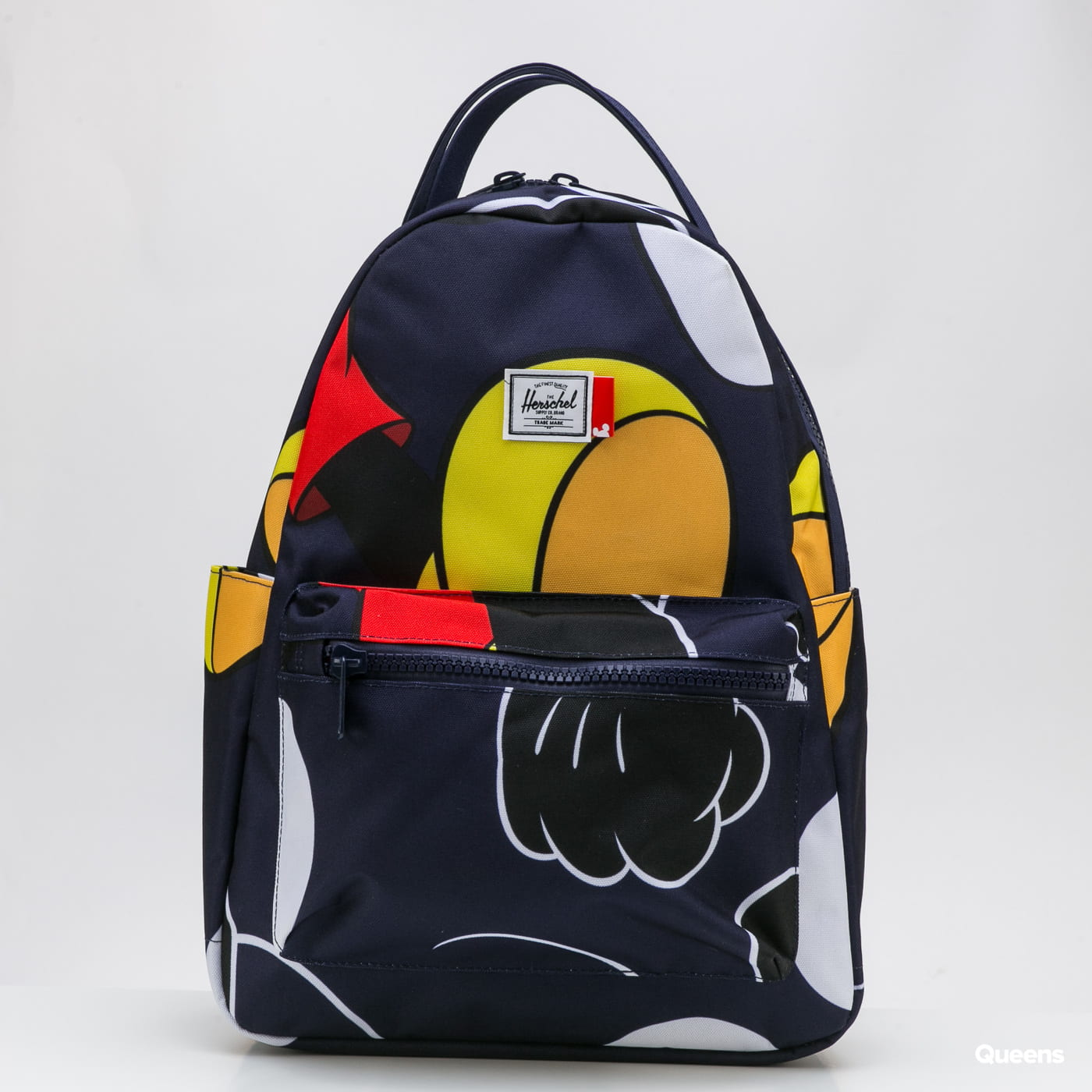 The Herschel Supply CO. Nova Mid Mickey Backpack navy / white / black / red / yellow