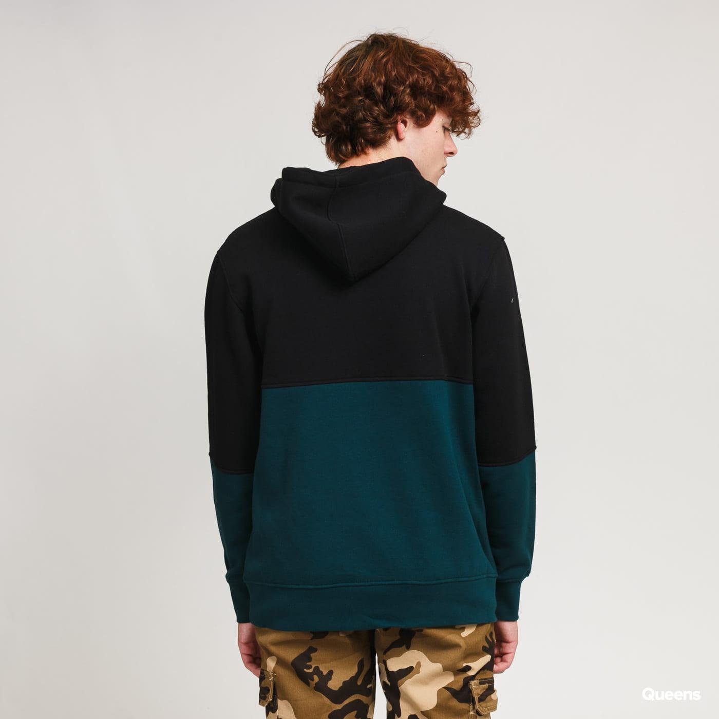 The Hundreds Blitz Pullover černá / tmavě zelená