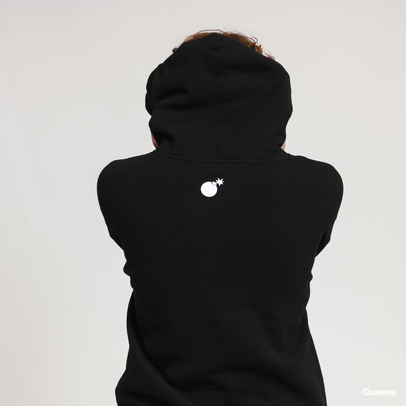 The Hundreds Forever Bar Logo Pullover black