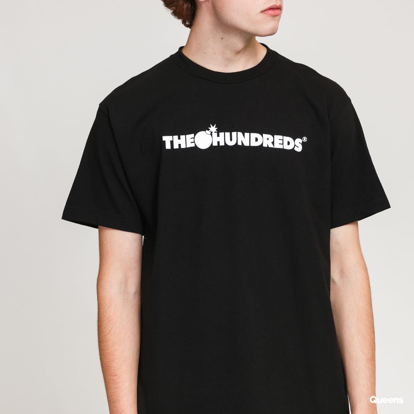 The Hundreds Forever Bar Logo T-Shirt černé