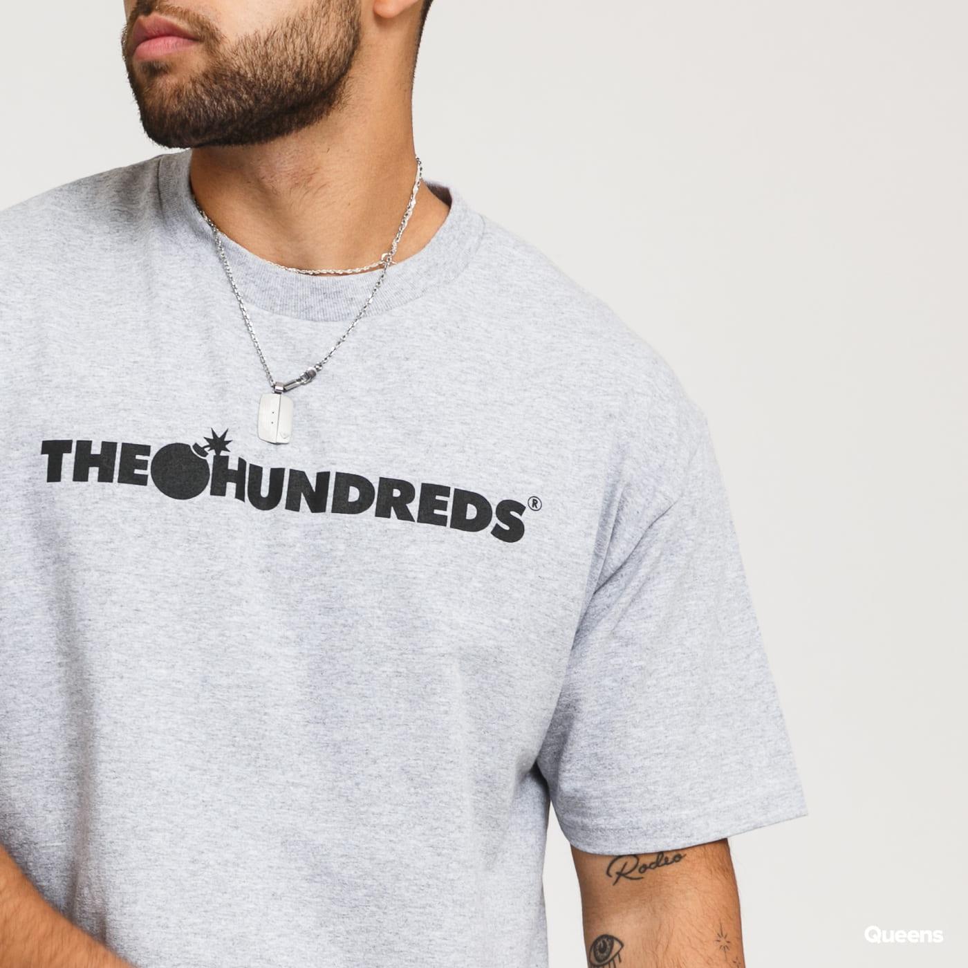 The Hundreds Forever Bar Logo T-Shirt melange gray