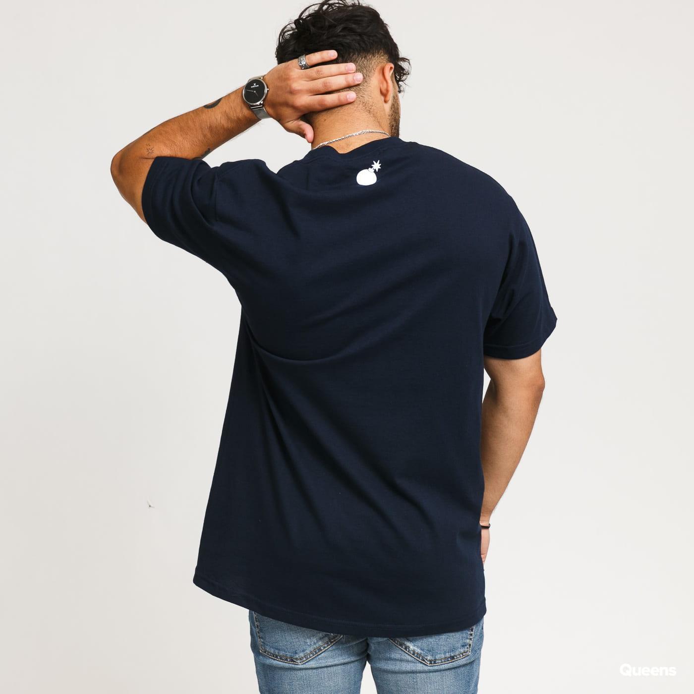The Hundreds Forever Bar Logo T-Shirt navy