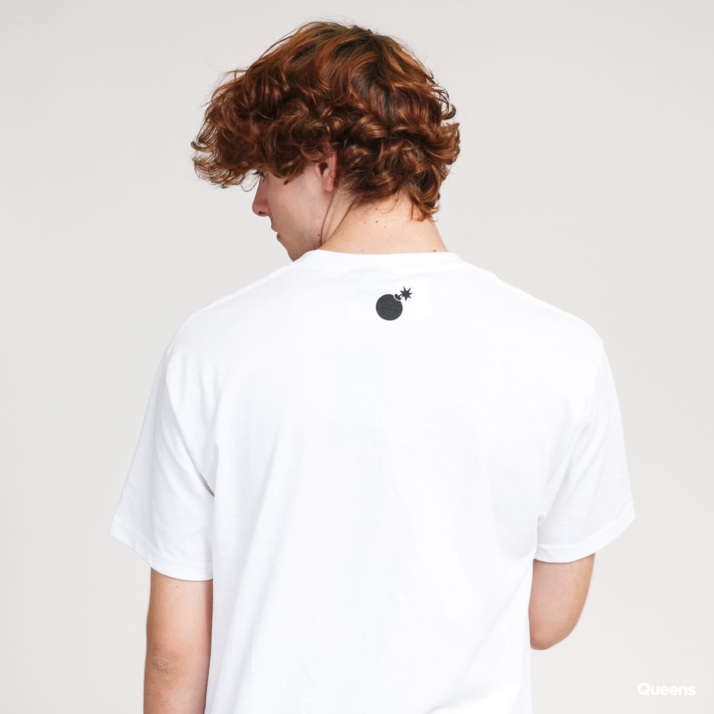The Hundreds Forever Bar Logo T-Shirt bílé