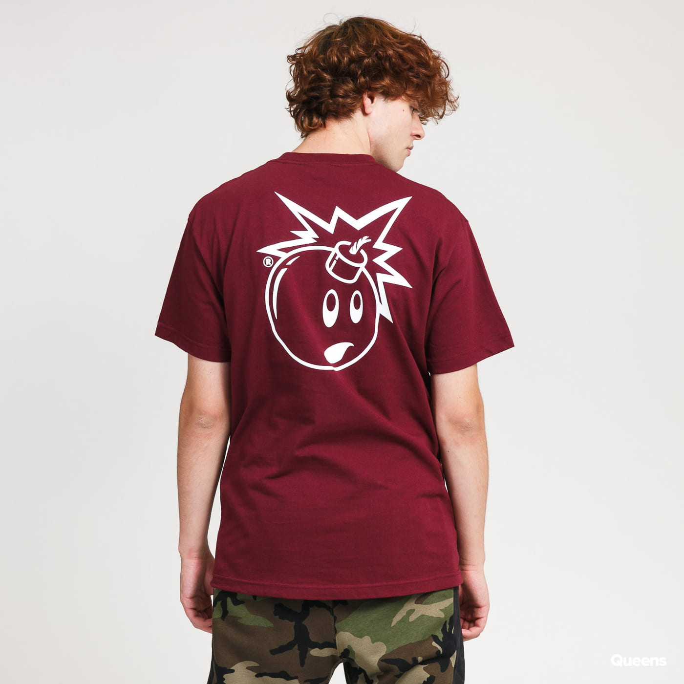 The Hundreds Forever Simple Adam T-Shirt bordeaux