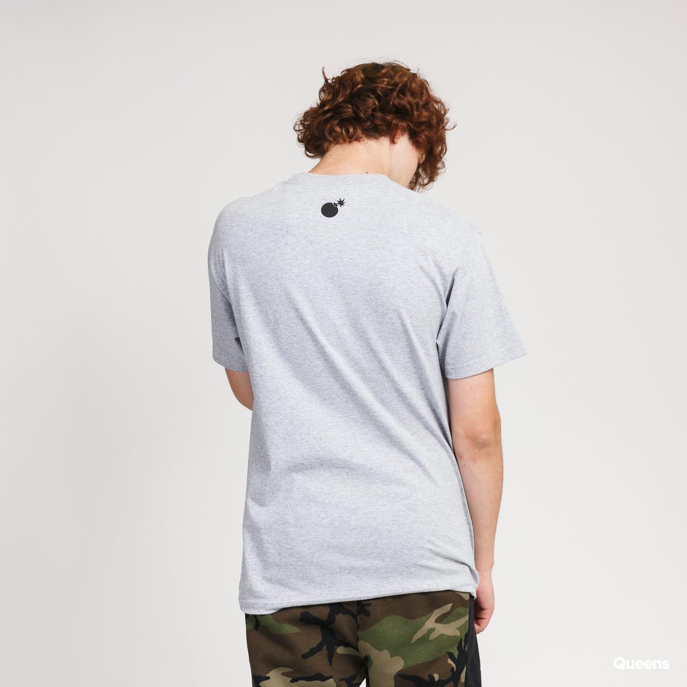The Hundreds Forever Slant Logo T-Shirt melange šedé