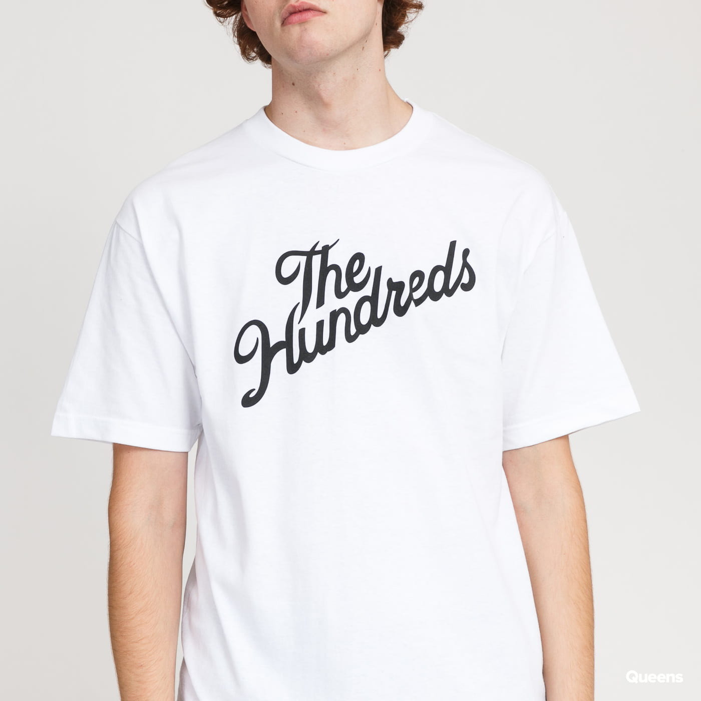 The Hundreds Forever Slant Logo T-Shirt bílé