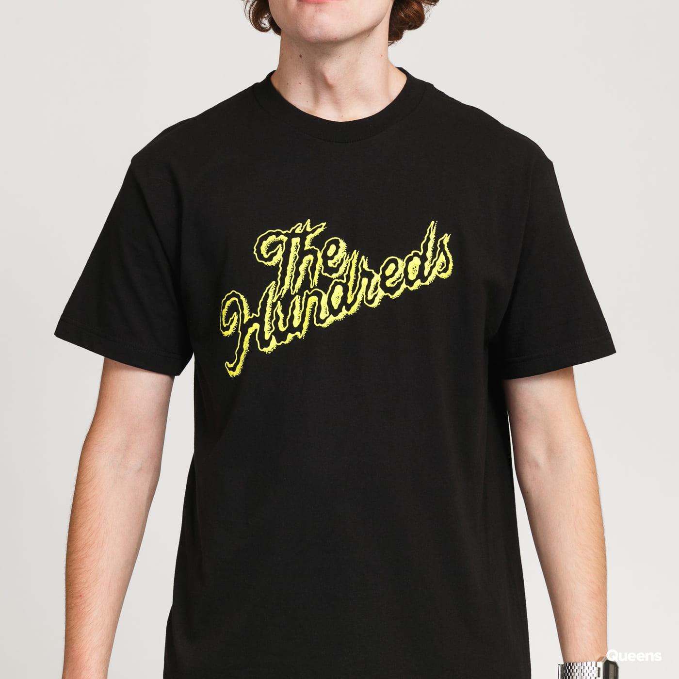 The Hundreds Grave Slant T-Shirt black