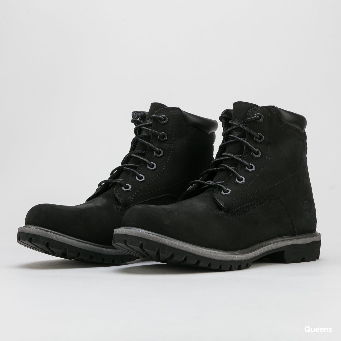 Timberland Waterville 6 Inch Waterproof Boot black nubuck