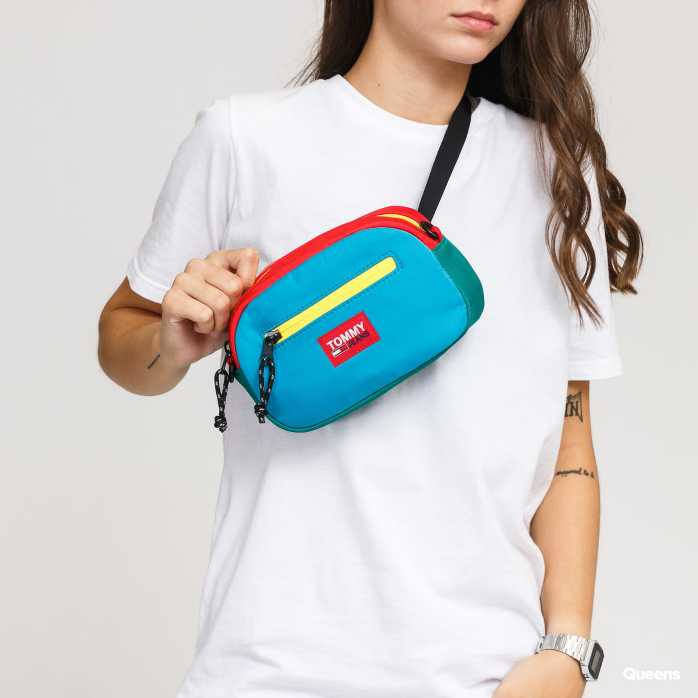 TOMMY JEANS Urban Tech 2 Way green / blue / red / yellow