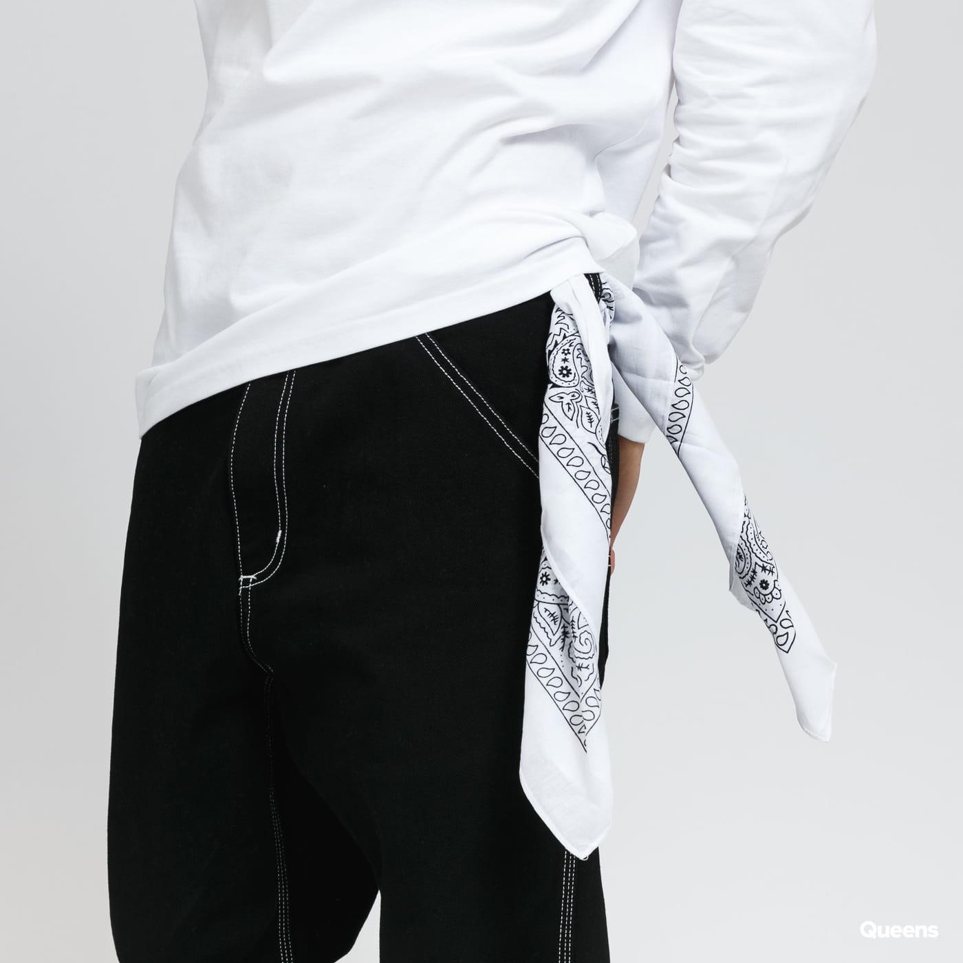 Urban Classics Bandana white / black