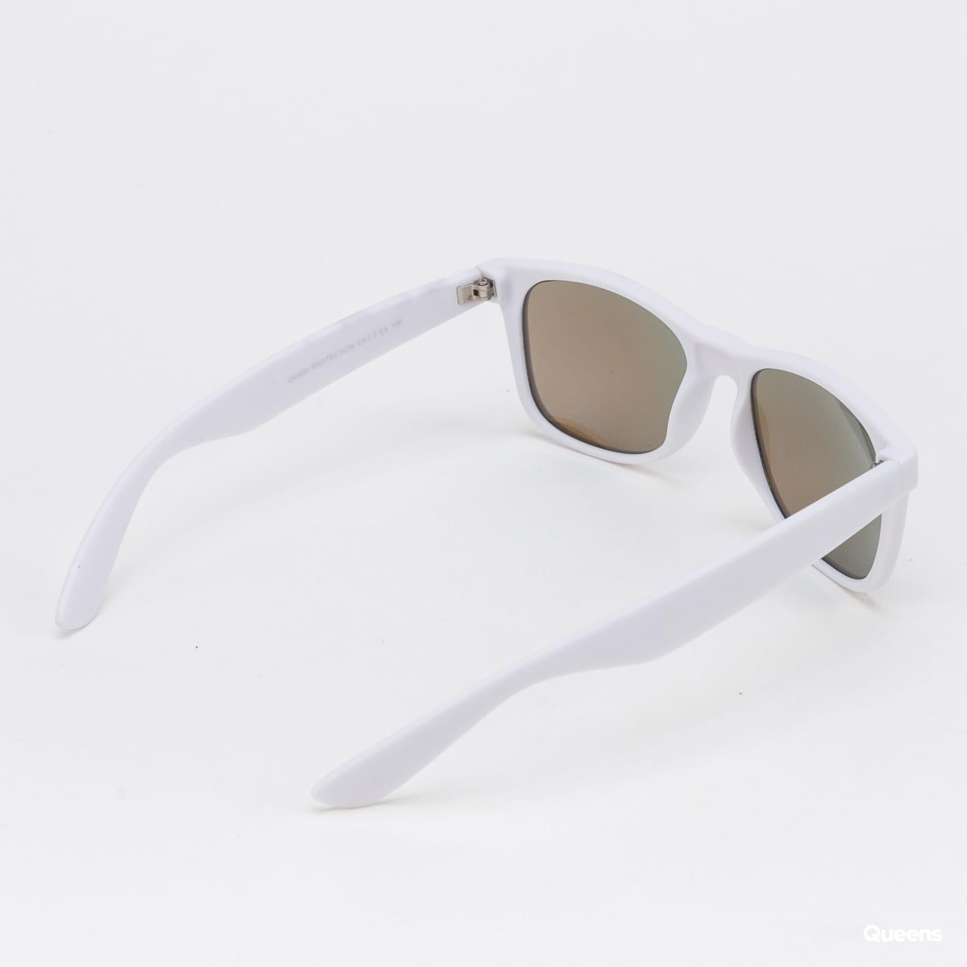 Urban Classics Sunglasses Likoma Mirror UC bílé / modré