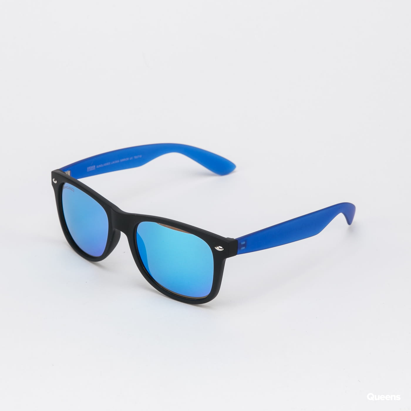Urban Classics Sunglasses Likoma Mirror UC black / blue