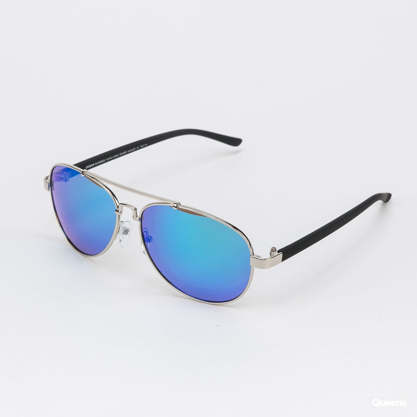Urban Classics Sunglasses Mumbo Mirror UC silver / blue