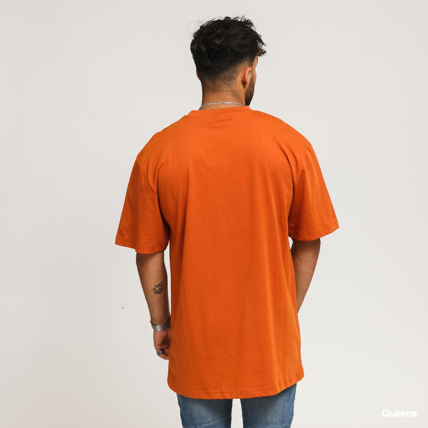 Urban Classics Tall Tee tmavě oranžové