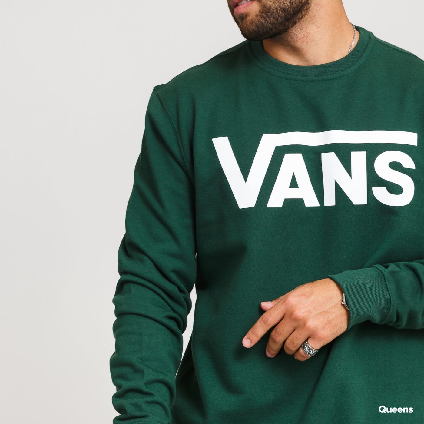 Vans MN Classic Crew II dark green