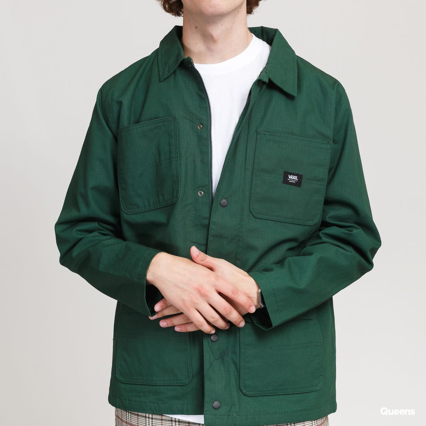 Vans MN Drill Chore Coat dark green