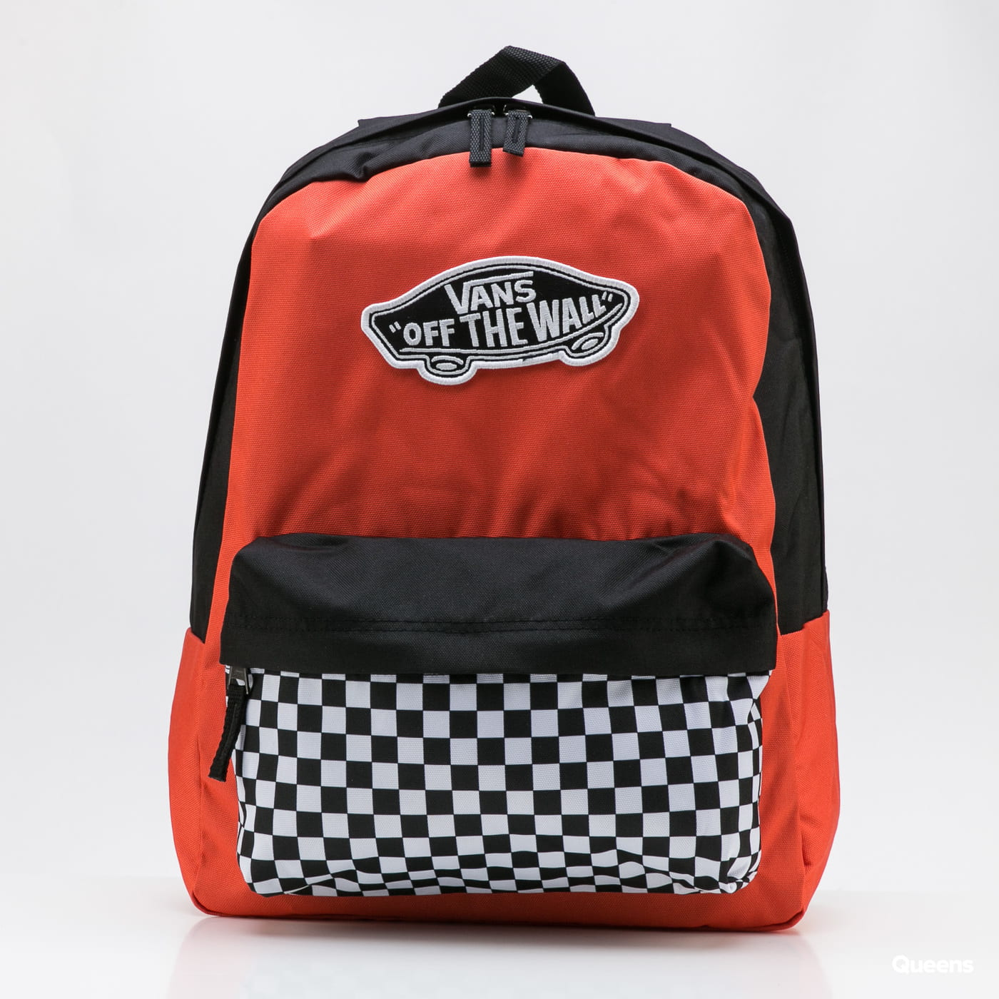 Vans WM Realm Backpack orange / black / white