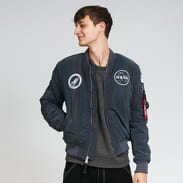 Alpha Industries MA-1 NASA Rainbow tmavě šedá / multicolor