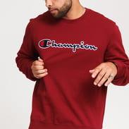Champion Script Logo Crewneck vínová