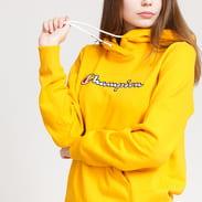 Champion Script Logo Hooded Sweatshirt žlutá