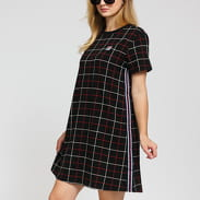 Fila W Winona AOP Tee Dress černé / červené / bílé