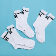 Helly Hansen 3Pack Cotton Sport Sock bílé