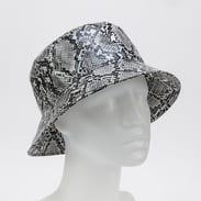 KANGOL Snakeskin Bucket šedý / černý / bílý